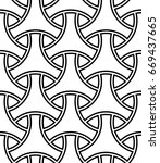 seamless surface pattern design ... | Shutterstock .eps vector #669437665