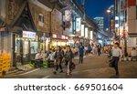 tokyo  japan   june 30th 2017.... | Shutterstock . vector #669501604