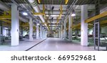 district cooling plant | Shutterstock . vector #669529681