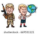 donald trump cartoon caricature ...