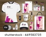 gift items business corporate... | Shutterstock .eps vector #669583735