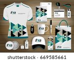 gift items business corporate... | Shutterstock .eps vector #669585661