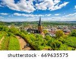 marburg an der lahn  | Shutterstock . vector #669635575