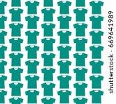 pattern background blank tshirt ... | Shutterstock .eps vector #669641989
