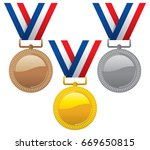 vector set of gold  silver and...   Shutterstock .eps vector #669650815