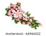 wedding flower bouquet... | Shutterstock . vector #66966322
