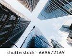 ny look up | Shutterstock . vector #669672169