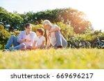 wonderful enthusiastic guys... | Shutterstock . vector #669696217