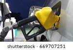 fuel dispenser pump. a fuel...   Shutterstock . vector #669707251