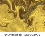 abstract black and gold...   Shutterstock . vector #669708979