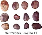 rocks isolated on white | Shutterstock . vector #66975214