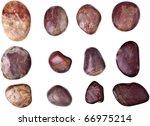 rocks isolated on white   Shutterstock . vector #66975214