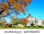 washington d.c. in autumn   the ... | Shutterstock . vector #669786445