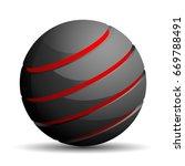 abstract sign illustration   Shutterstock .eps vector #669788491