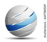 abstract sign illustration | Shutterstock .eps vector #669788509