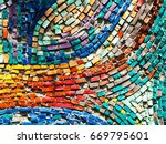 detail of beautiful old... | Shutterstock . vector #669795601