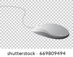 vector simple of computer mouse ... | Shutterstock .eps vector #669809494
