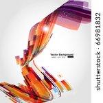 abstract background vector | Shutterstock .eps vector #66981832