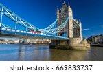 Close Up View Of Tower Bridge...