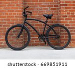 A Vintage  Generic Two Wheel...