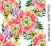 abstract elegance seamless... | Shutterstock .eps vector #669875815