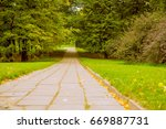 old road pavement in the city... | Shutterstock . vector #669887731