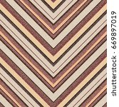 seamless geometric pattern with ... | Shutterstock .eps vector #669897019
