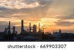 gas turbine electrical power... | Shutterstock . vector #669903307