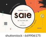 vector design for sale web... | Shutterstock .eps vector #669906175