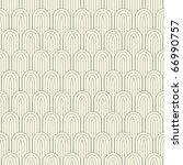 striped pattern in art nuvo... | Shutterstock .eps vector #66990757