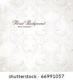 seamless wallpaper  vector... | Shutterstock .eps vector #66991057