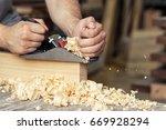 Close Up As A Carpenter...