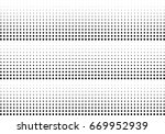 abstract halftone dotted... | Shutterstock .eps vector #669952939