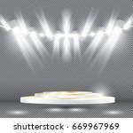 stage illumination effects with