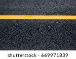 asphalt highway road texture... | Shutterstock . vector #669971839