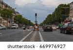 champs elysees  paris  france   ... | Shutterstock . vector #669976927