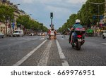champs elysees  paris  france   ... | Shutterstock . vector #669976951