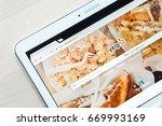 jyvaskyla  finland   july 1 ... | Shutterstock . vector #669993169
