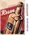 award winning hand crafted rum  ... | Shutterstock .eps vector #669995599