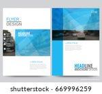 abstract vector modern flyers...   Shutterstock .eps vector #669996259