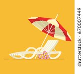 vacation and travel concept.... | Shutterstock .eps vector #670007449