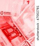 credit  red paper money | Shutterstock . vector #67002781