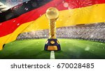 confederations cup. golden... | Shutterstock . vector #670028485