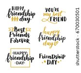 lettering set about world... | Shutterstock .eps vector #670030501