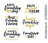 lettering set about world... | Shutterstock .eps vector #670030501