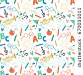 stylish vector background for... | Shutterstock .eps vector #670031011