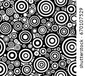 Black And White Doodle Circles...
