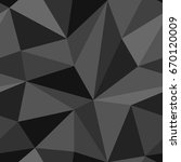 geometrical vector seamless... | Shutterstock .eps vector #670120009