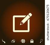 subscribe simple vector icon....