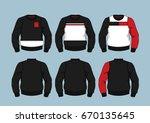 sweaters 3 | Shutterstock .eps vector #670135645